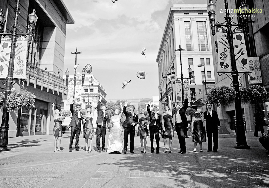 calgary wedding photography anna michalska stephen avenue downtown