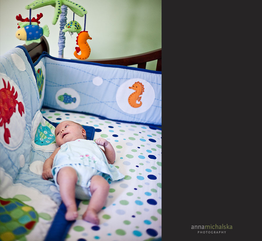 calgary baby photography anna michalska crib