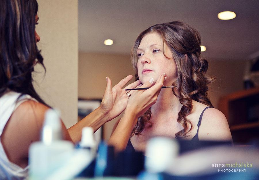 calgary wedding photography anna michalska carriage house inn bride makeup
