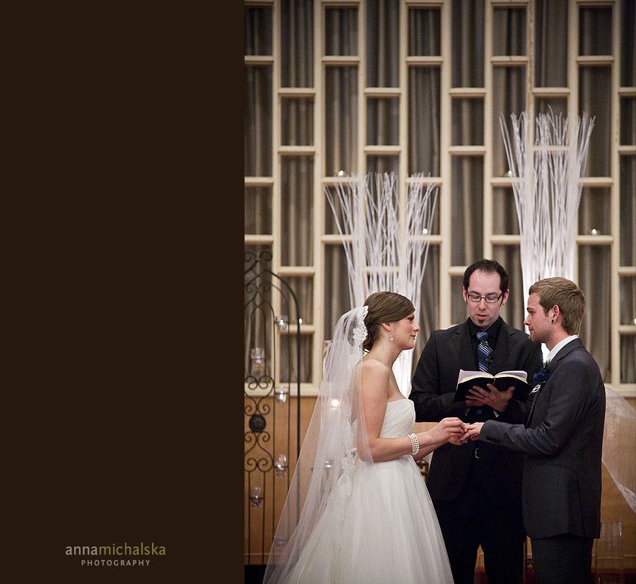 calgary wedding photography anna michalska ceremony highland mennonite church