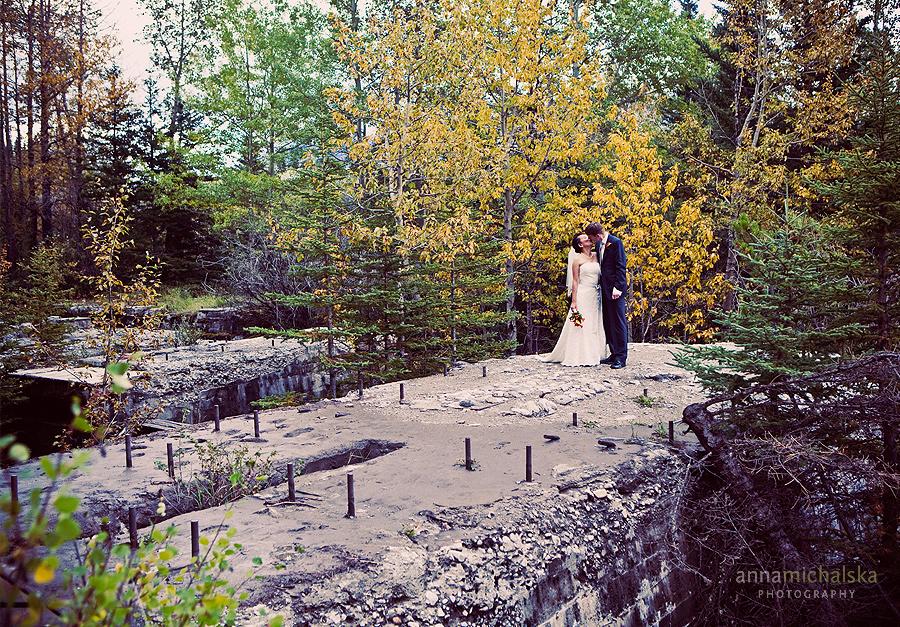 banff wedding photographer anna michalska two jack lake elopement bankhead
