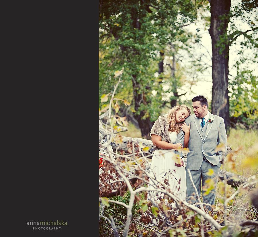 calgary wedding photography anna michalska fish creek park