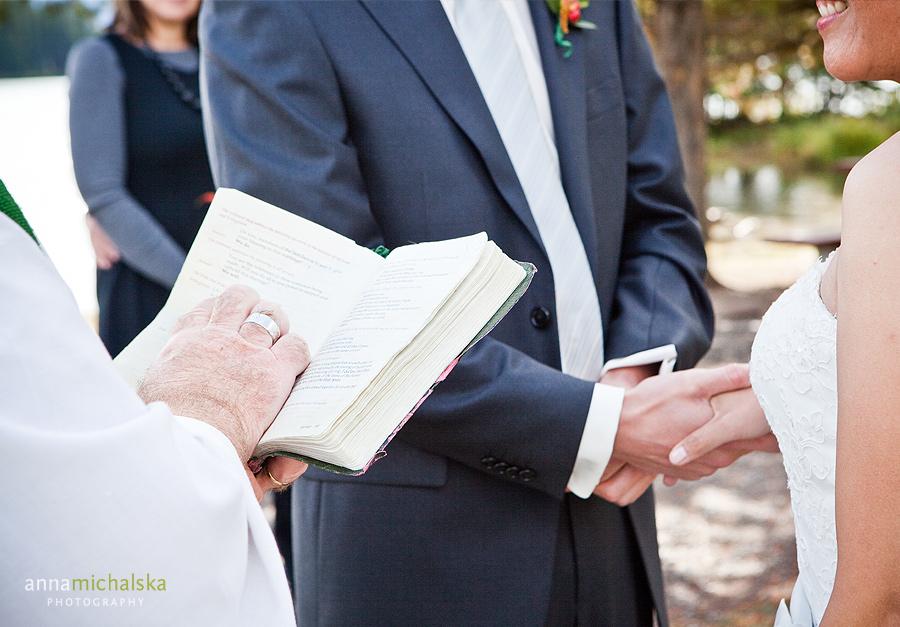 banff wedding photographer anna michalska two jack lake elopement