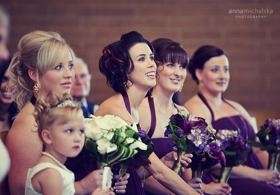 calgary wedding photographer anna michalska Ascension Catholic Parish ceremony