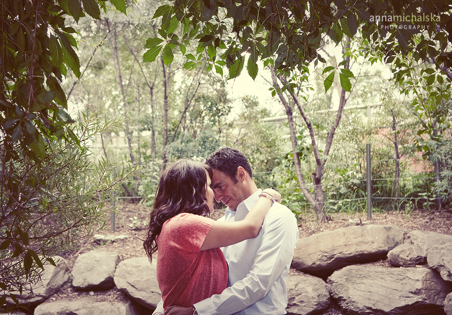 engagement session anna michalska photography calgary zoo