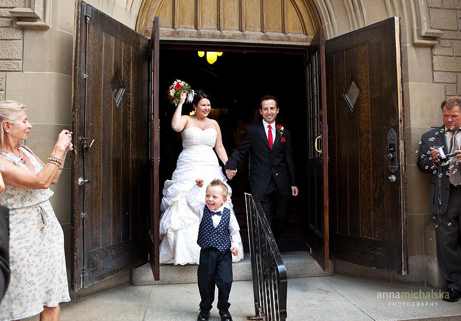 calgary wedding photographer anna michalska knox united church downtown