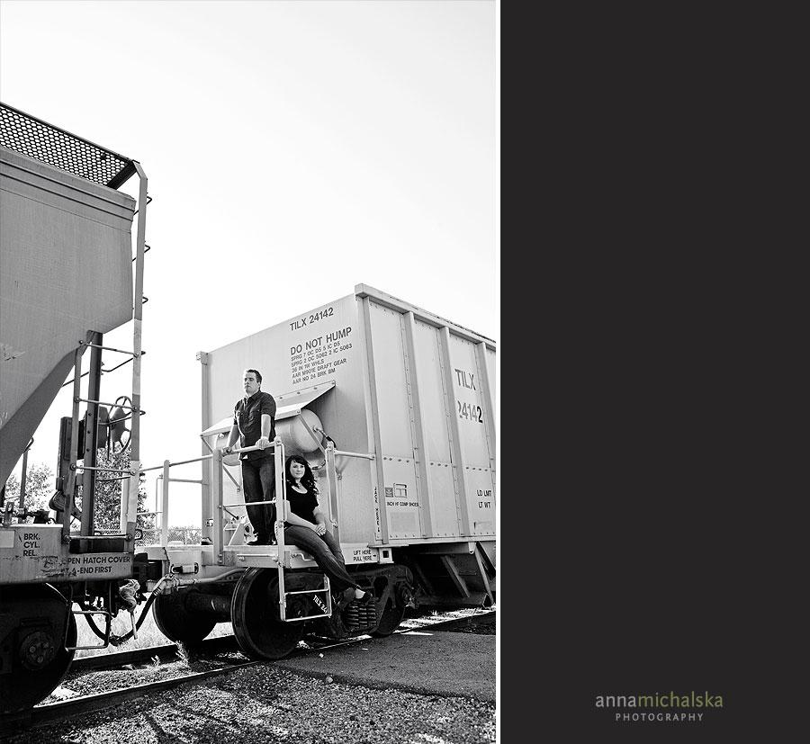 Studio Lighting Calgary: Emilka + Chris { Calgary Engagement Photography