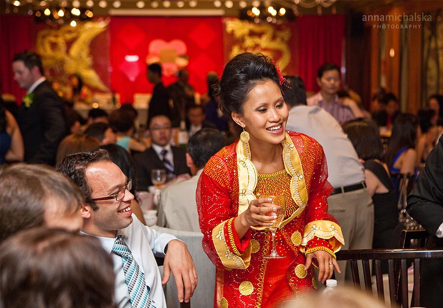 calgary wedding photographer anna michalska reception forbidden city restaurant