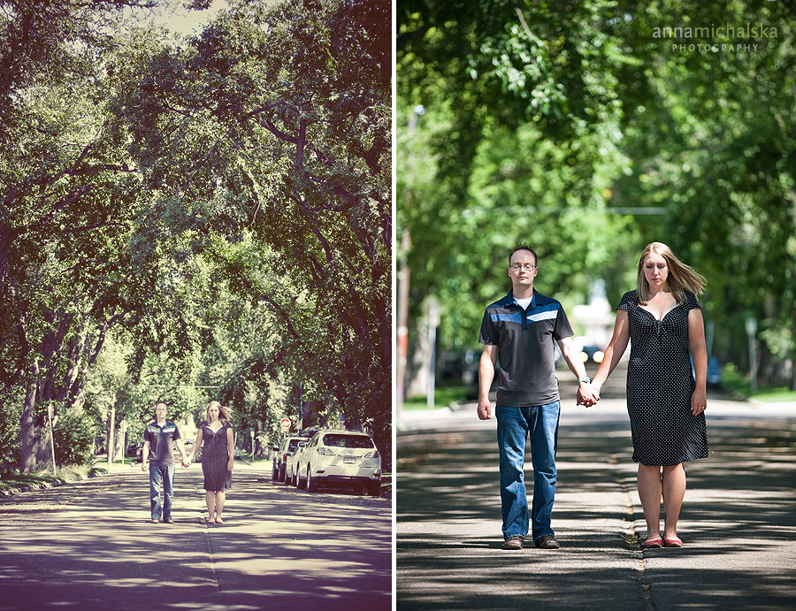 calgary engagement photographer anna michalska trees weeping birch willow