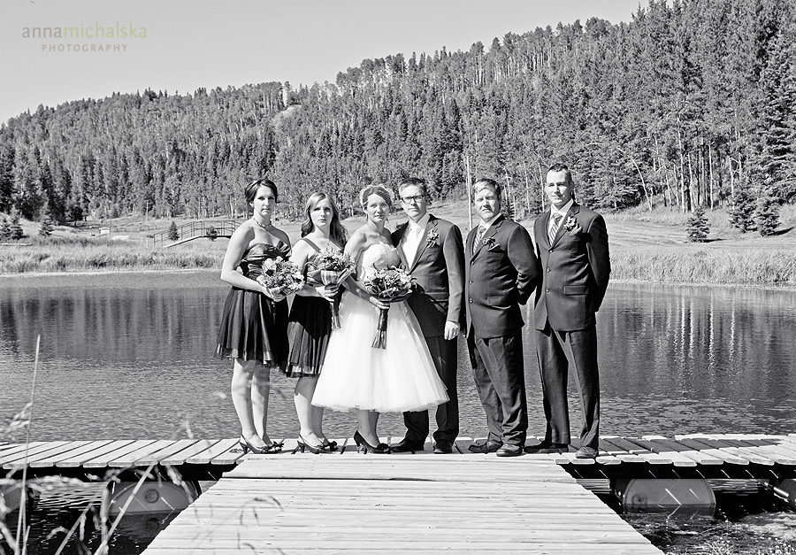rocky mountain house wedding photographer anna michalska
