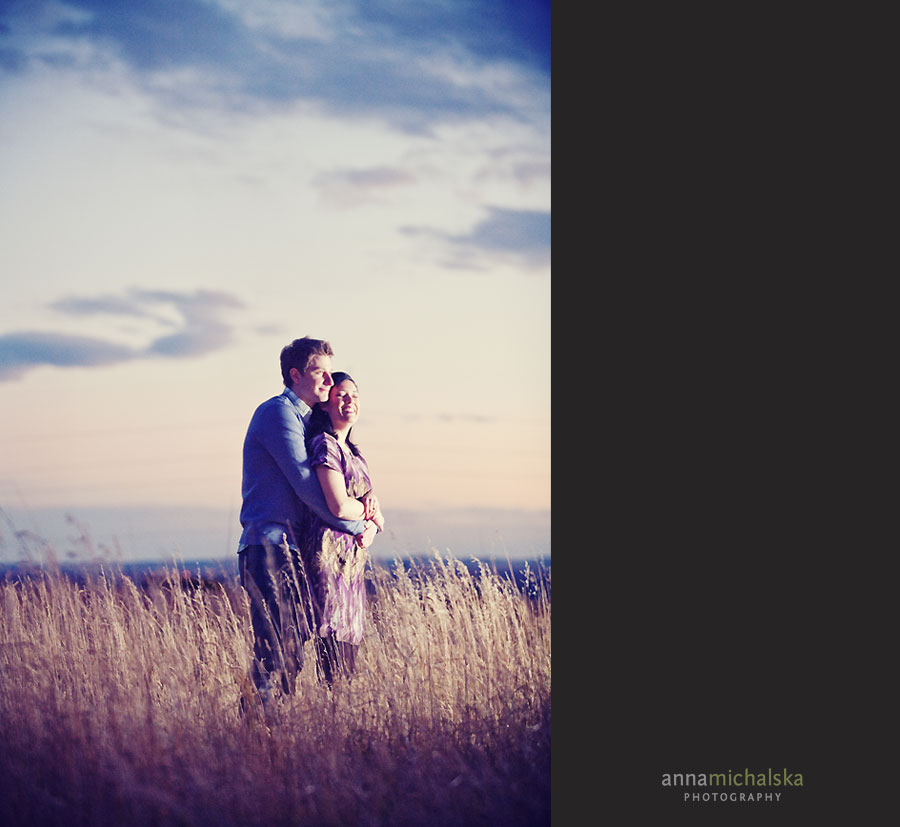 calgary engagement wedding photographer anna michalska nose hill park sunset