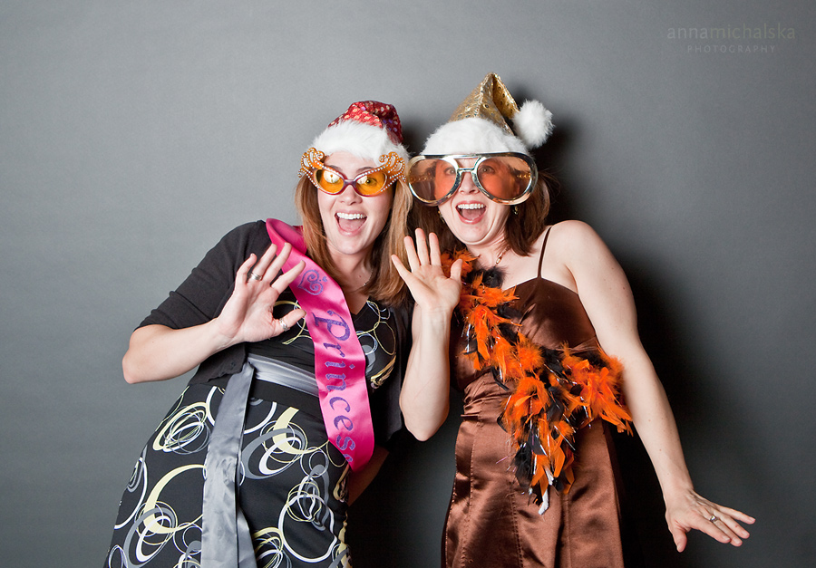 corporate photographer anna michalska photo booth photobooth christmas event party