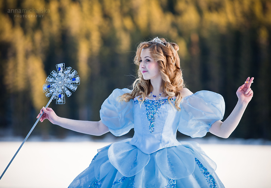 portrait creative photographer glinda wicked witch of the west banff calgary anna michalska
