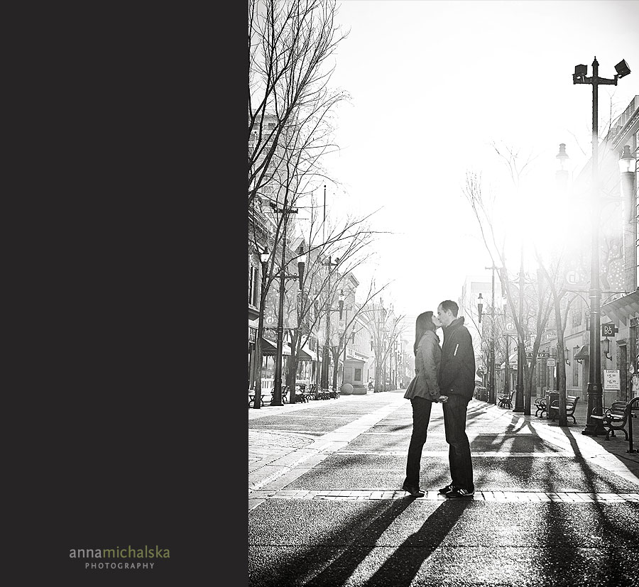 calgary couples wedding anniversary photographer anna michalska downtown stephen avenue