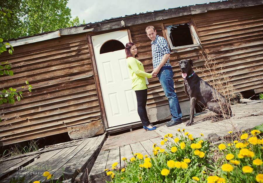 calgary engagement photographer anna michalska barn