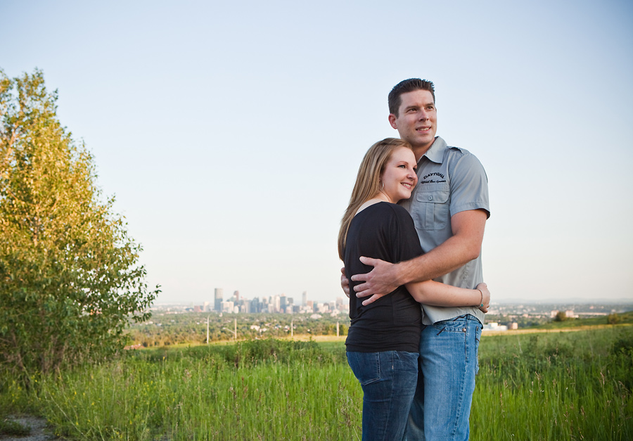 calgary engagement photographer anna michalska nose hill park
