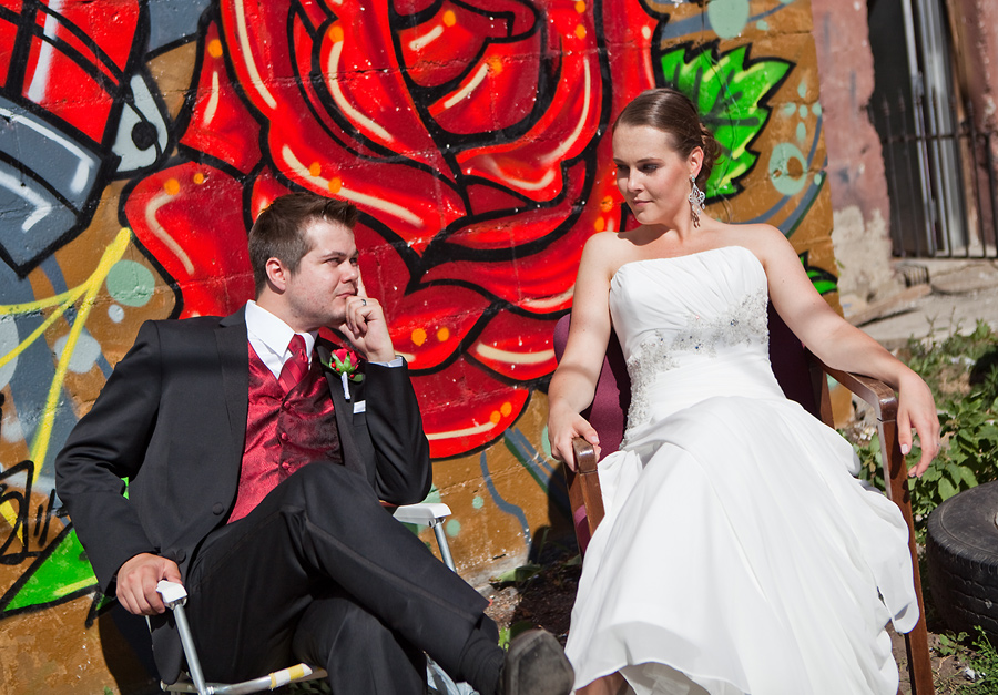 calgary wedding photographer anna michalska inglewood graffiti