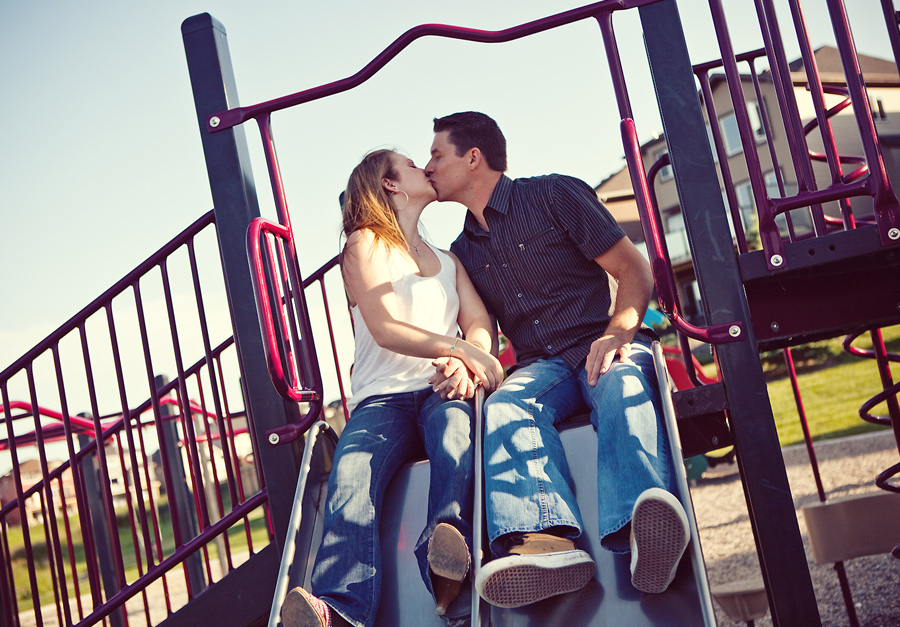 calgary engagement photographer anna michalska playground