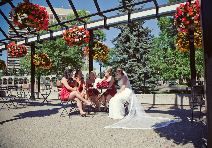 calgary wedding photographer anna michalska downtown city hall olympic plaza