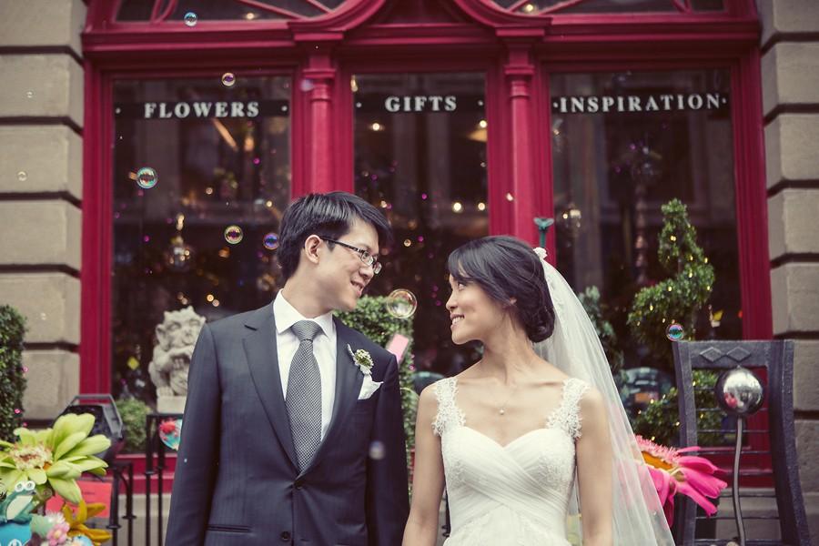 Stephen avenue wedding
