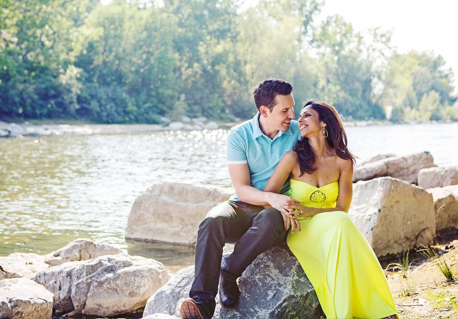 calgary engagement photographer anna michalska prince's island park