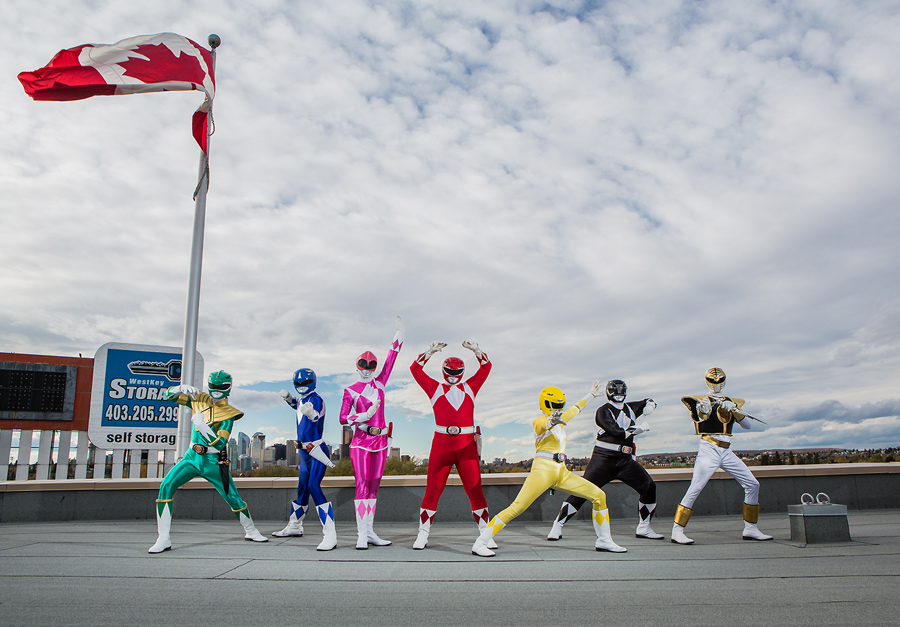 calgary cosplay photographer anna michalska power rangers