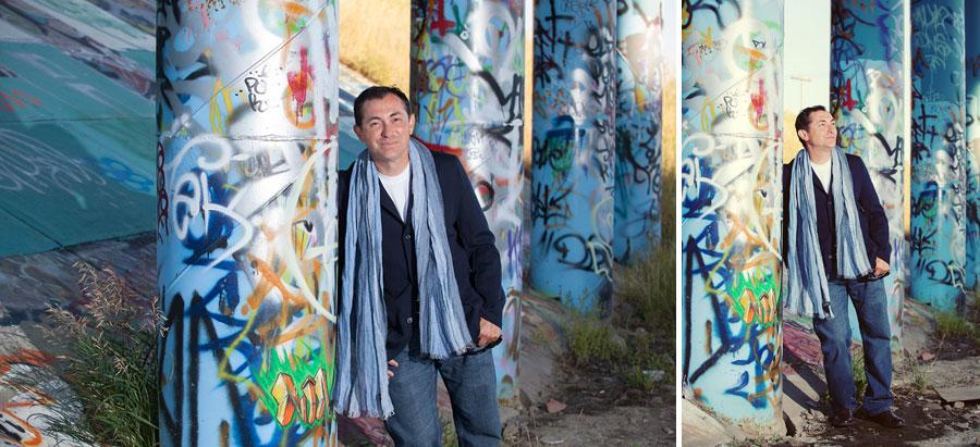 calgary portrait session photographer anna michalska graffiti bridge
