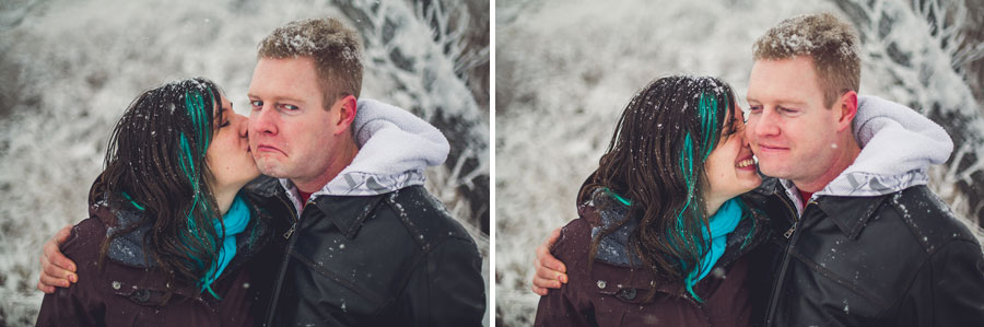 calgary couples engagement photographer anna michalska winter snow