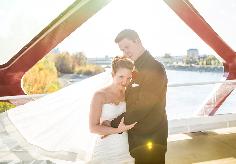 calgary wedding photographer anna michalska peace bridge