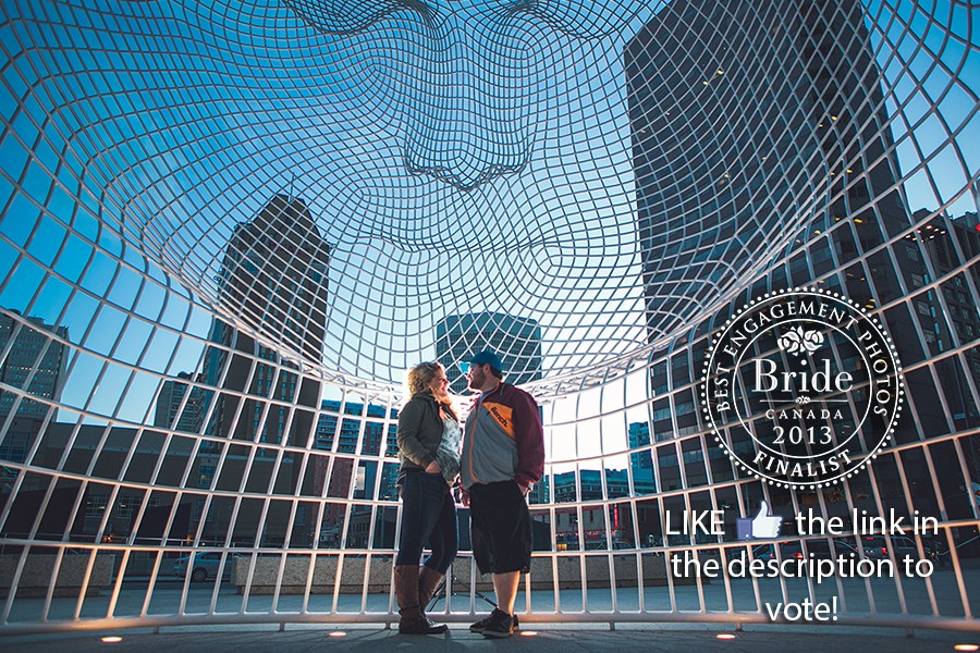 best engagement photo contest bride.ca calgary anna michalska photography