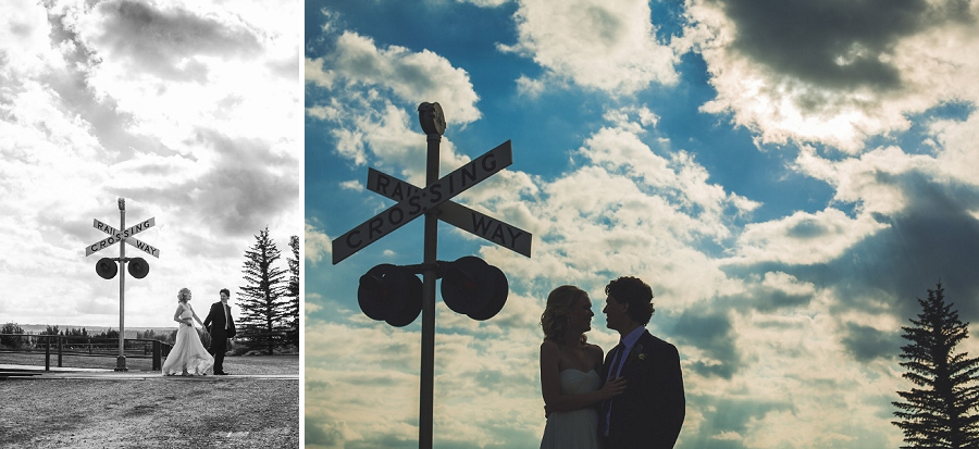 railway crosswalk heritage park wedding calgary