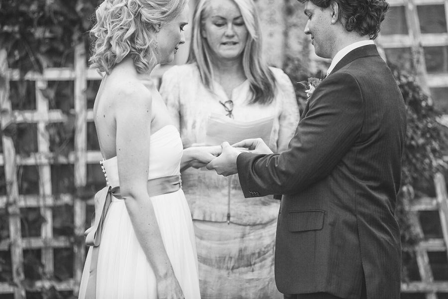 exchange of rings heritage park wedding calgary