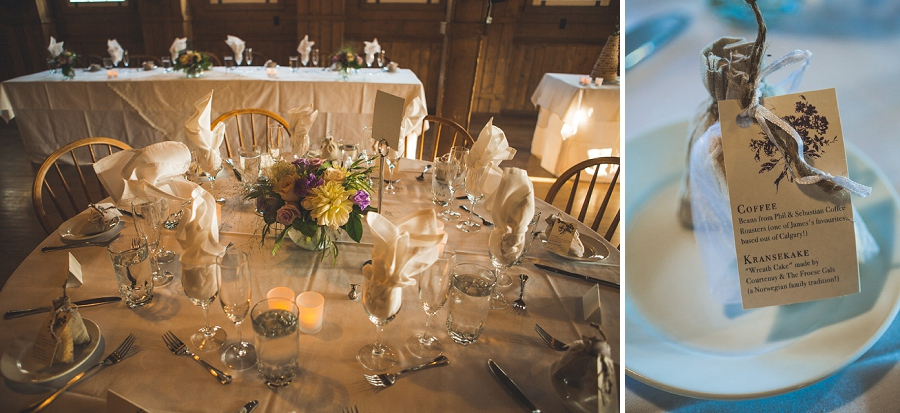 country themed reception decor heritage park wedding calgary