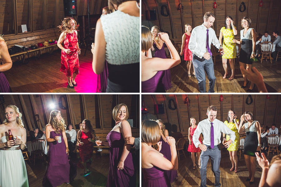 dancing on the dancefloor heritage park wedding calgary