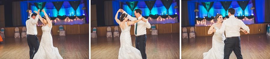 choreographed first dance calgary wedding photographer anna michalska
