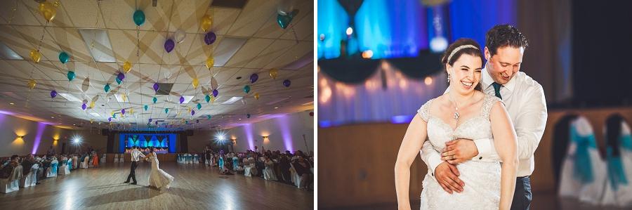 first dance bride groom calgary wedding photographer anna michalska
