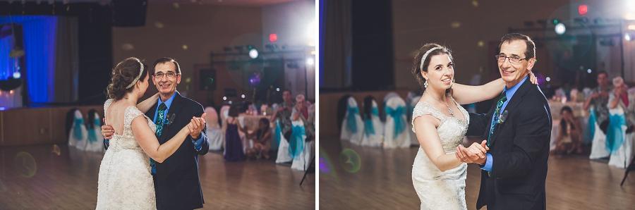 daughter father dance calgary wedding reception anna michalska