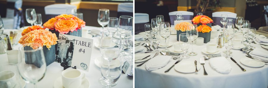 table decorations valley ridge golf course calgary wedding photographers anna michalska