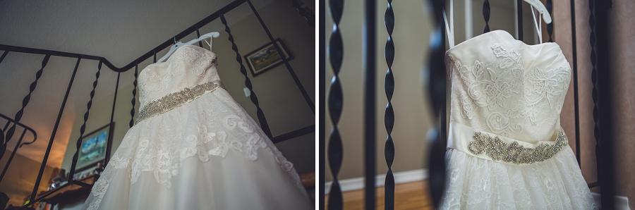 calgary wedding photographers bride dress