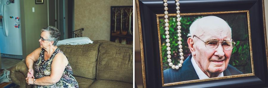 calgary wedding photographers bride pearls