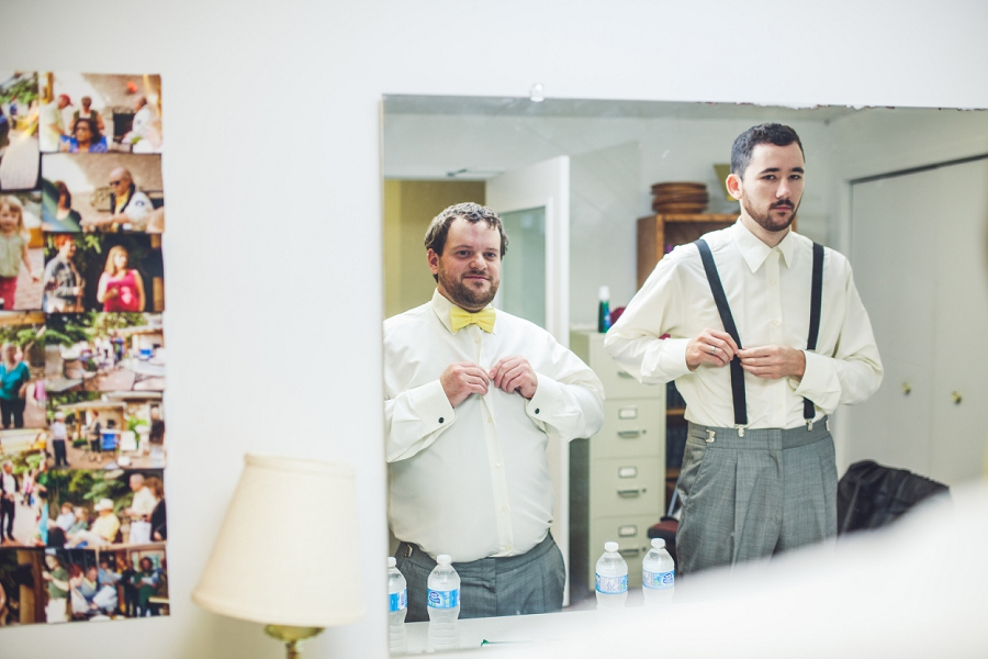 calgary wedding photographers groom getting ready