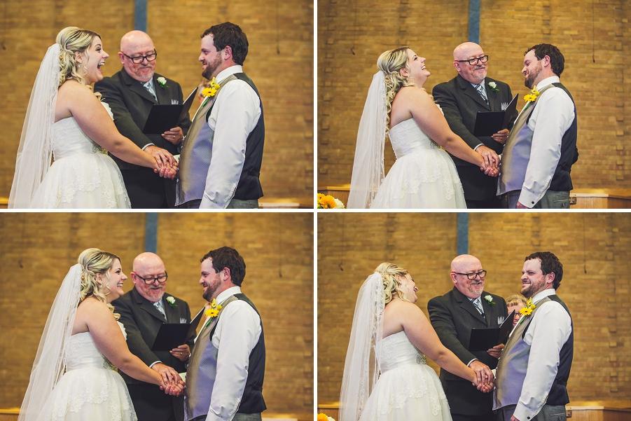 calgary wedding photographers excited bride