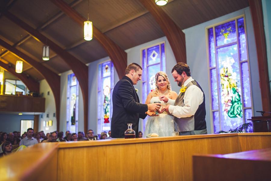 calgary wedding photographers ceremony