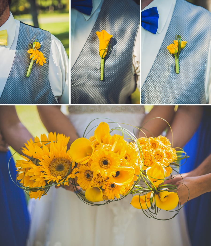 calgary wedding photographers confederation park boutonniere and flowers