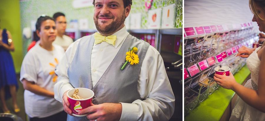 calgary wedding photographers menchies frozen yogurt