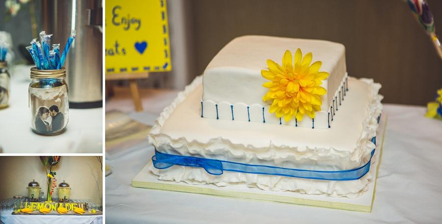 calgary wedding photographers candy bar cake