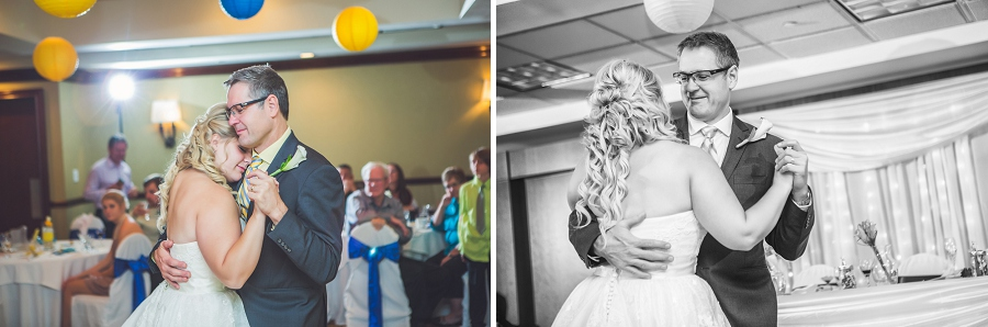 calgary wedding photographers father daughter reception dance