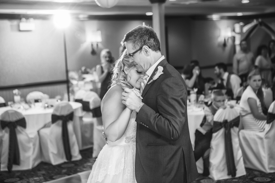 calgary wedding photographers father daughter dance