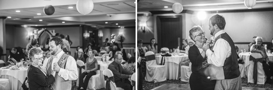 calgary wedding photographers mother son dance