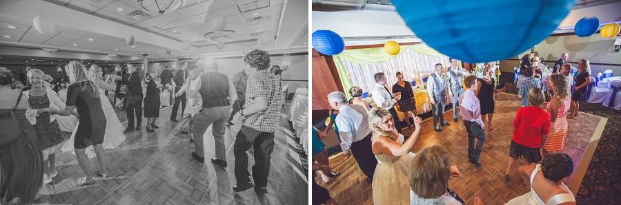calgary wedding photographers reception dancing